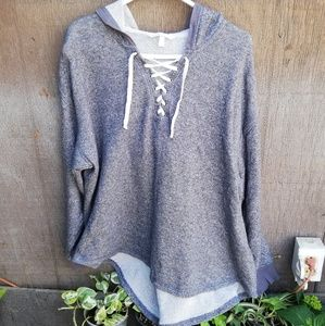Victoria's Secreat XL gray sweter